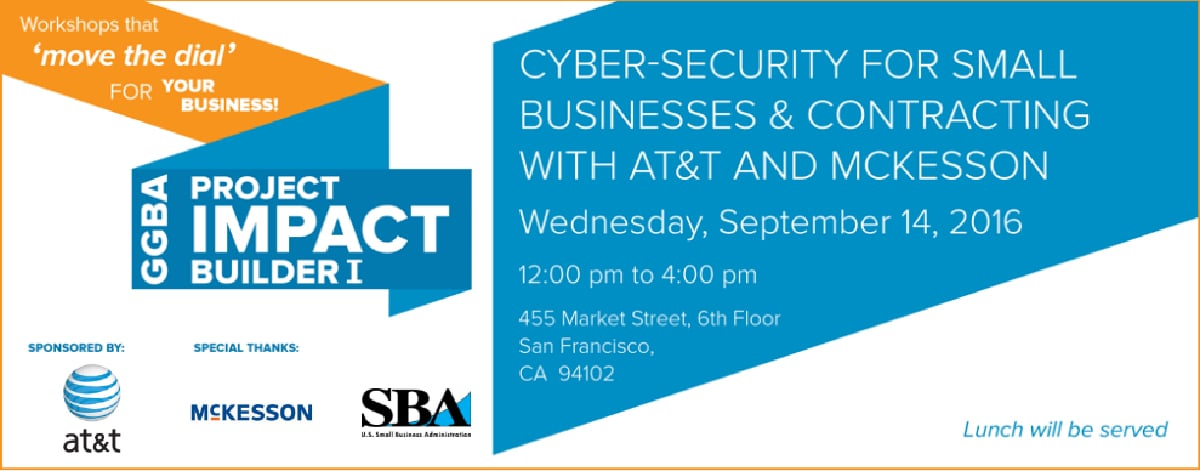 Impact Builder: Cyber Security for Small Businesses & Supplier Diversity Do's and Don't's