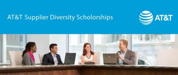 2018 AT&T Supplier Diversity Scholarships