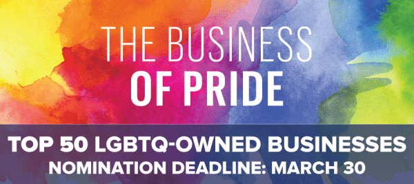 Business of Pride: TOP 50 LGBTQ-Owned Businesses in the Bay Area 2018
