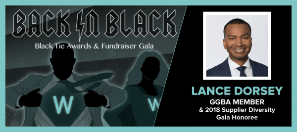GGBA Member Lance Dorsey to be awarded at WRMSDC Black Tie Awards & Fundraiser Gala