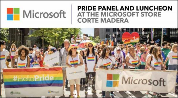Pride Panel and Luncheon at The Microsoft Store in Corte Madera