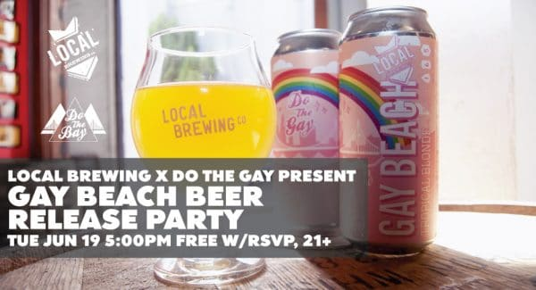 Gay Beach Beer Release Party