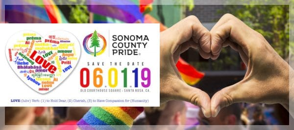 Sonoma County Pride Parade and Vendor Online Registration is Now Open!