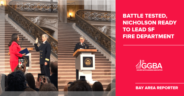B.A.R. – Jeanine Nicholson: Battle tested, Nicholson ready to lead SF Fire Department