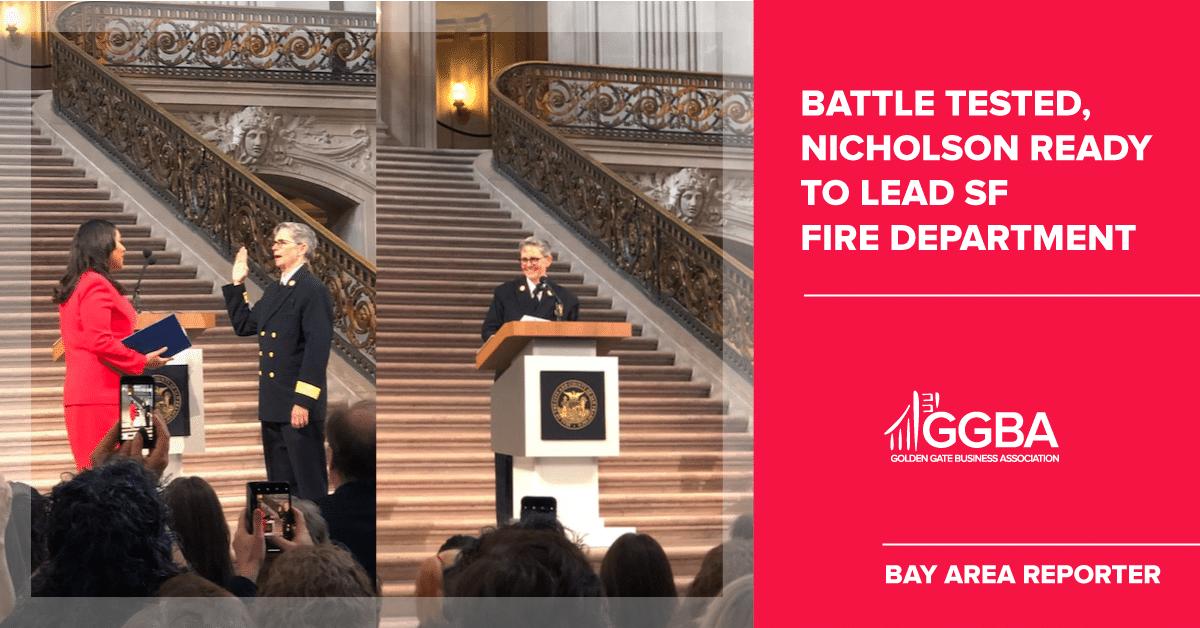 B.A.R. – Jeanine Nicholson: Battle tested, Nicholson ready to lead SF Fire Department