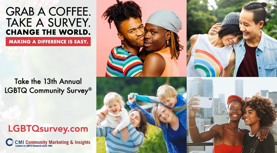 Take part in the 13th Annual LGBTQ Community Survey!
