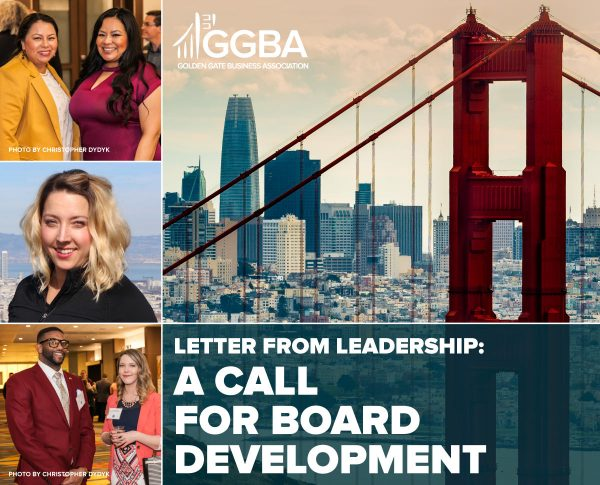 Letter from Leadership: A Call for Board Development