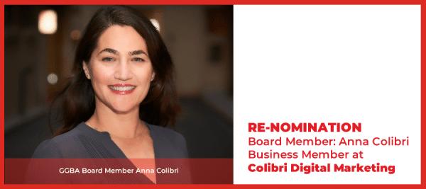 Anna Colibri Re-Election Candidacy