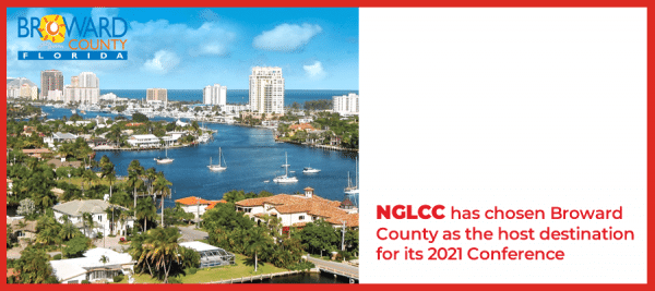 The NGLCC has chosen Broward County for its 2021 Conference