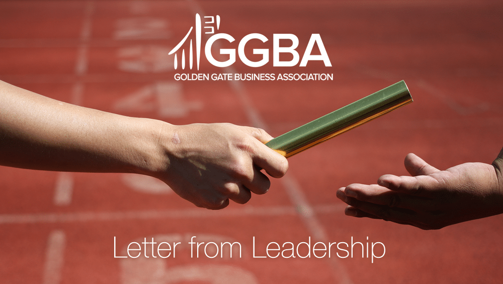 Passing the GGBA Leadership Baton to Michael Gunther
