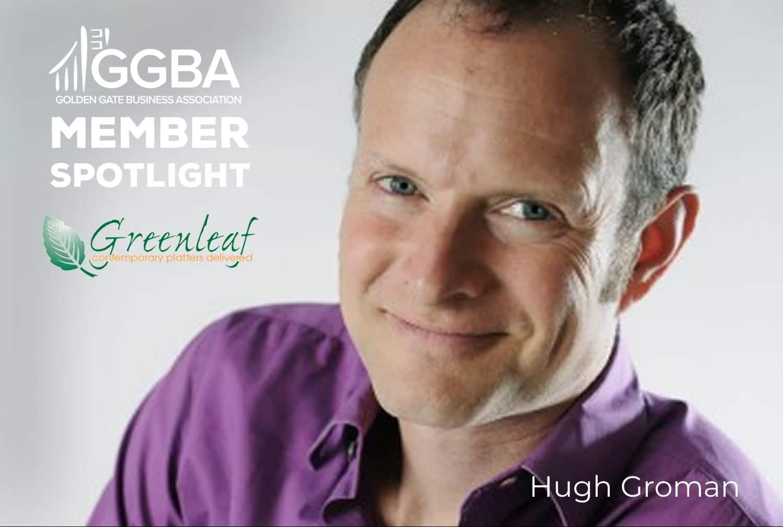 Member Spotlight: Hugh Groman with Green Leaf Platters