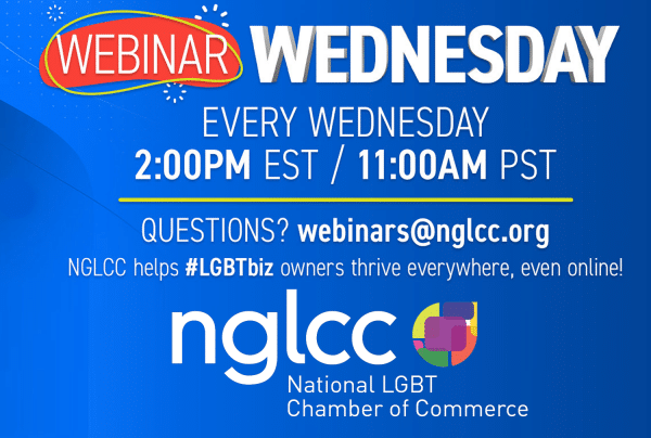 NGLCC Webinar Wednesdays