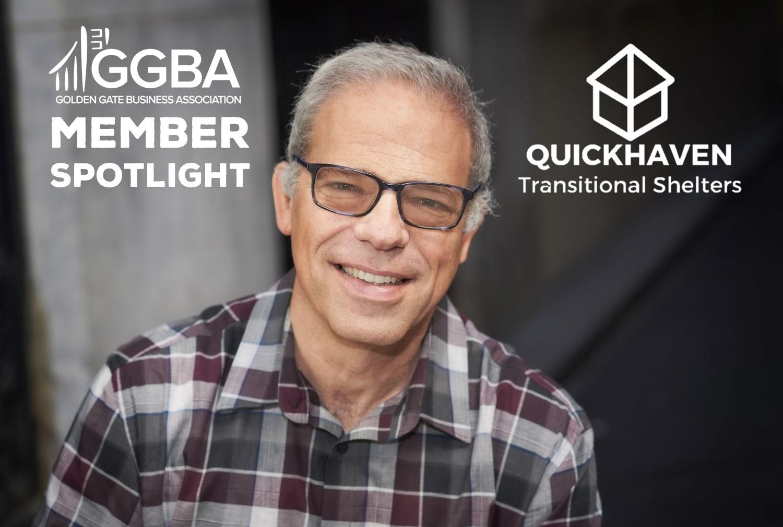 Dan Bodner of QuickHaven Transitional Shelters