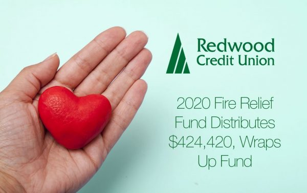 2020 Fire Relief Fund Distributes $424,420, Wraps Up Fund