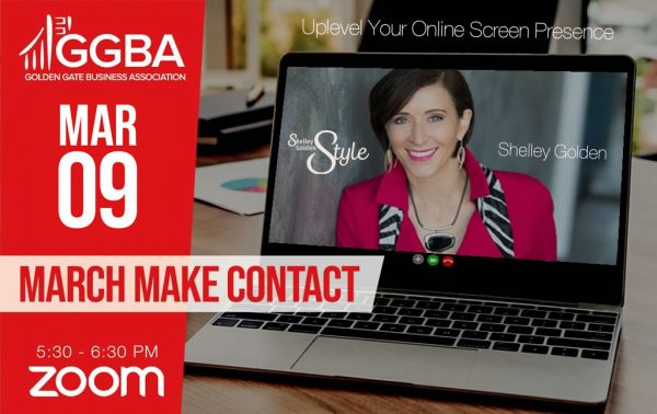 March Make Contact: Uplevel Your Online Screen Presence