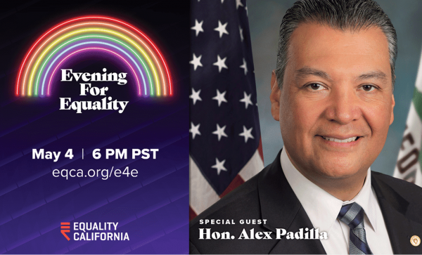 Evening for Equality on May 04
