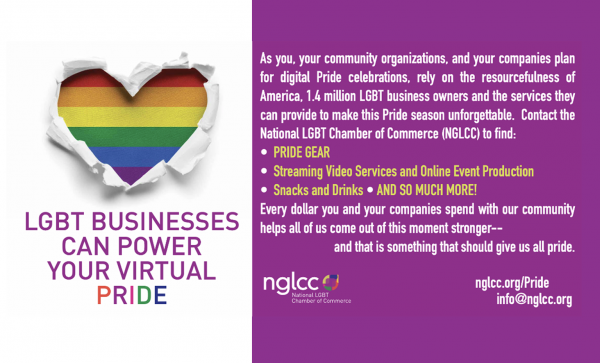 Put LGBTBEs To Work Powering Your Pride Celebrations