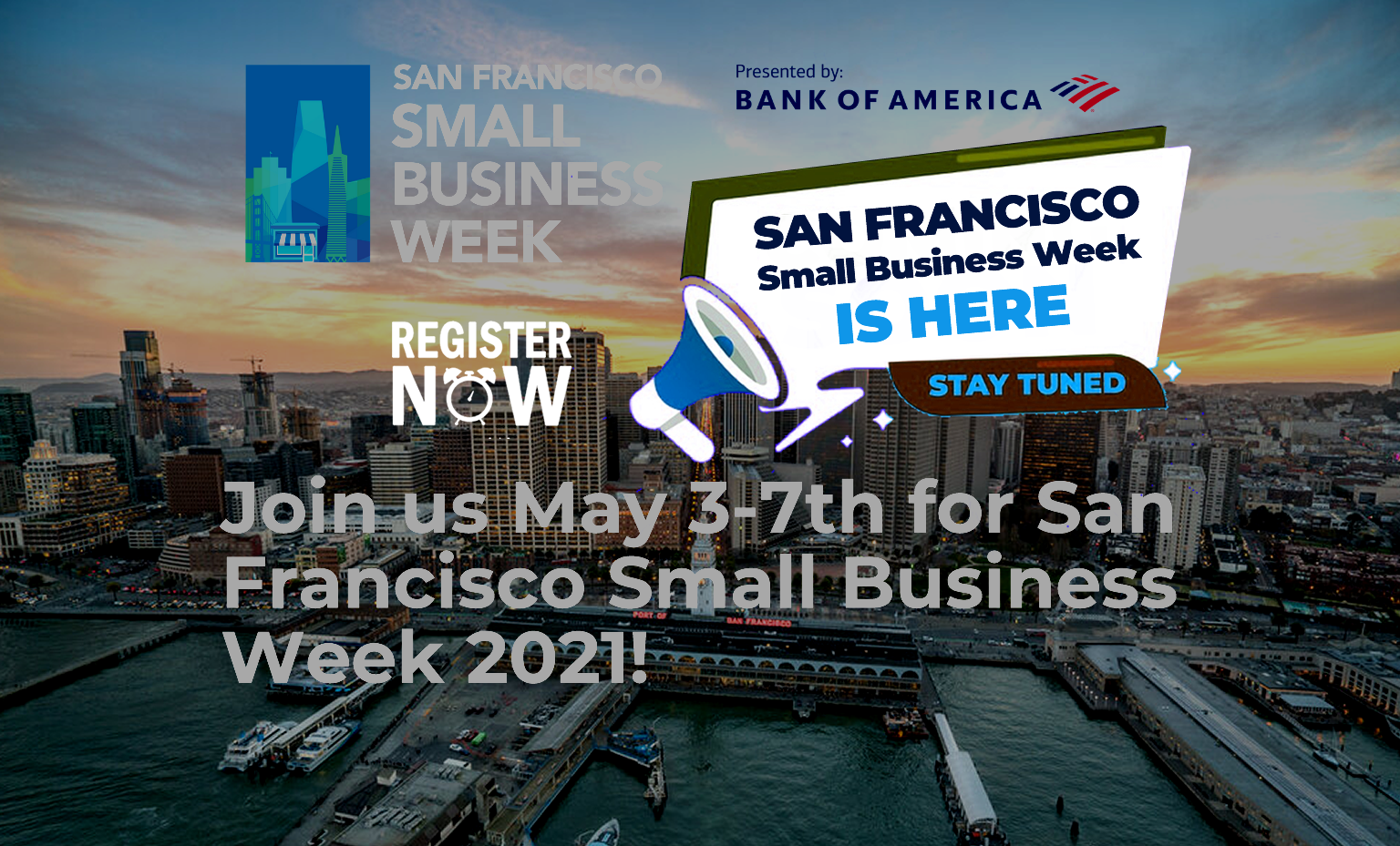 SF Small Business Week is finally here!!!